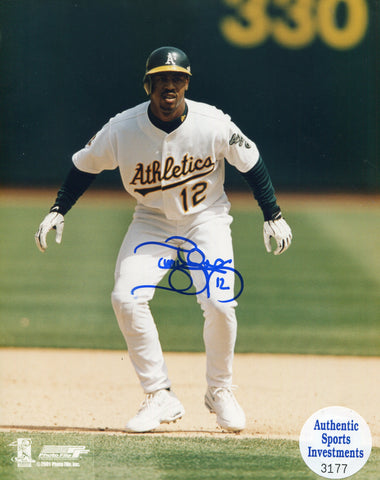Terrence Long Autographed 8x10 Photo