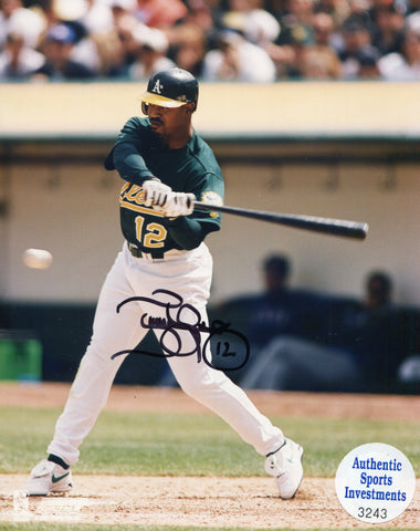 Terrence Long Autographed 8x10 Photo (Authentic Sports Investments)