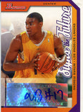 Andrew Bynum Autographed 2005 Bowman Card