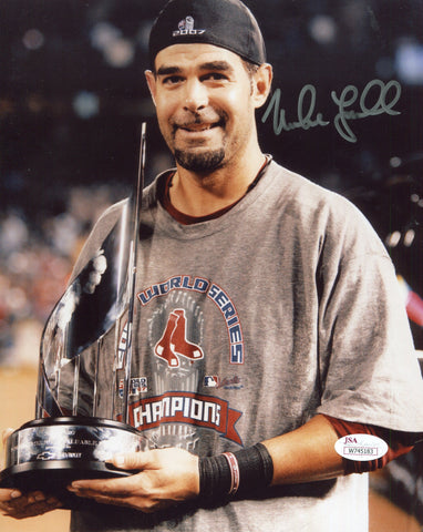 Mike Lowell Autographed 8x10 Photo(JSA)
