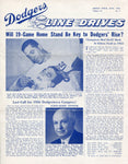 Brooklyn Dodgers Lines Drives Program 1956 Volume 15 No. 3 Carl Furillo