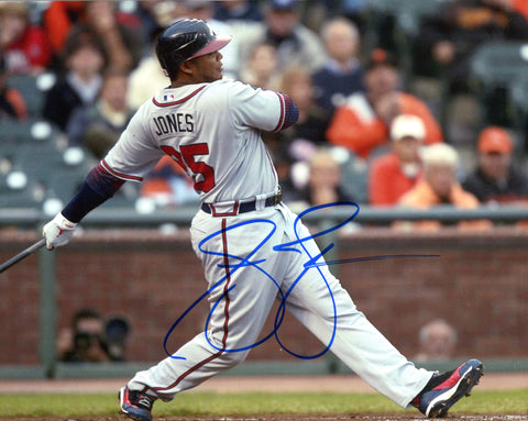 Andruw Jones Autographed 8x10 Baseball Photo