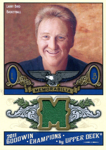 Larry Bird Autographed Upper Deck Card