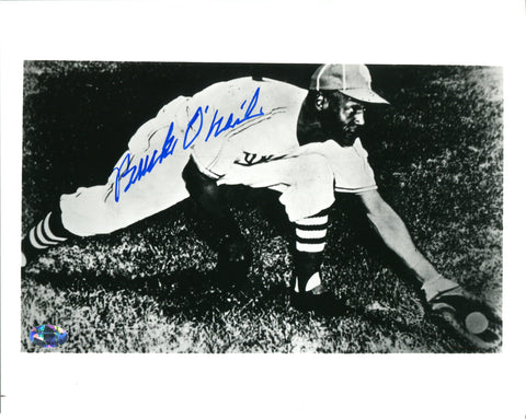 Buck O'Neil Autographed B&W 8x10 Photo