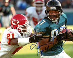 Keenan McCardell Autographed 8x10 Photo