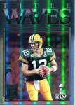 Aaron Rodgers 2018 Panini Donruss Elite Title Waves Insert Card