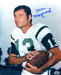 Don Maynard Autographed 8x10 Photo