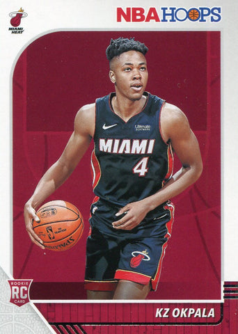 KZ Okpala 2019-20 Panini NBA Hoops Rookie Card