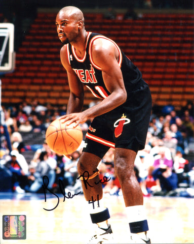 Glen Rice Autographed 8x10 Photo