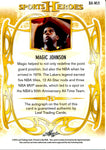Magic Johnson 2013 Leaf Sports Heroes Autographed Card #1/10