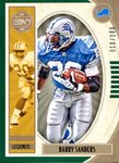 Barry Sanders 2019 Panini Legacy Legends Insert Card