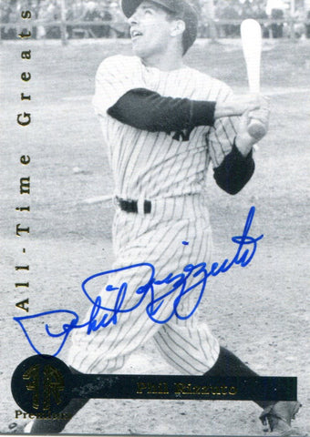 Phil Rizzuto Autographed Front Row Card