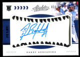 Randy Arozarena 2020 Absolute Baseball Autographed Rookie Card #26/125
