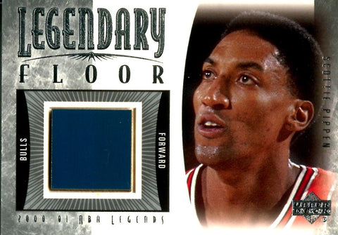 Scottie Pippen 2001 Upper Deck Legendary Floor Card