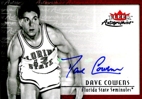 Dave Cowens 2013-14 Fleer Retro Autographed Card