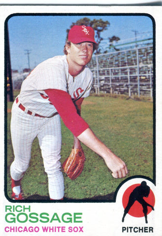 Rich Gossage 1973 Topps Card
