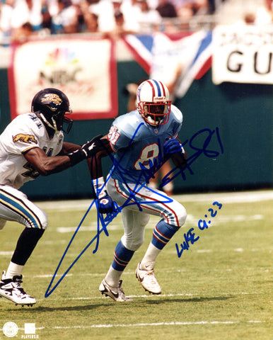 Chris Sanders Autographed 8x10 Photo