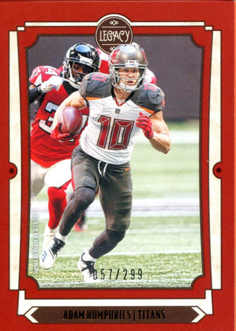 Adam Humphries 2019 Panini Legacy Insert Card