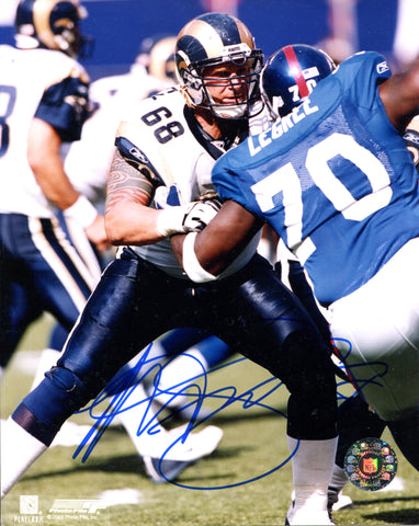 Kyle Turley Autographed 8x10 Photo