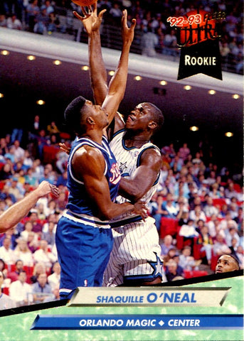 Shaquille O'Neal 1992-93 Fleer Unsigned Rookie Card