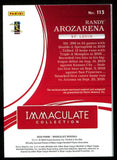 Randy Arozarena 2020 Immaculate Collection Patch/Autographed Rookie Card #2/5