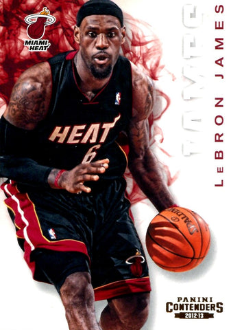 LeBron James 2012-13 Panini Contenders Unsigned