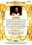 Bill Walton 2013 Leaf Sports Heroes Autographed Card #10/25
