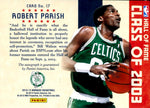 Robert Parish 2012-13 Panini Autographed Card #10/25