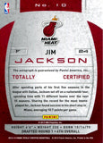 Jim Jackson 2013-14 Totally Silver Signatures Autographed Card
