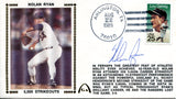 Nolan Ryan Autographed Aug 22, 1989 First Day Cover (JSA)
