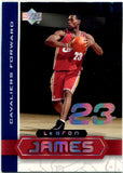 LeBron James 2003-04 Upper Deck Superstars Rookie Card