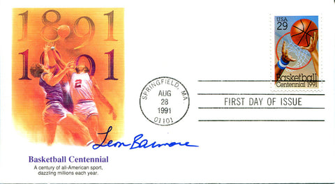 Leon Barmore Autographed First Day Cover