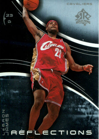 LeBron James 2004 Upper Deck Reflections