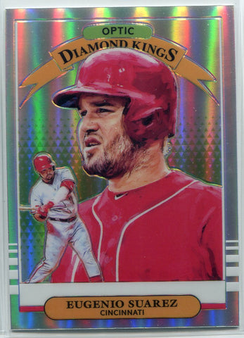 Eugenio Suarez 2019 Panini Optic Diamond Kings  Prizm Card