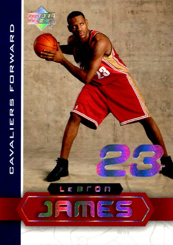 LeBron James 2003 Upper Deck Superstars Unsigned