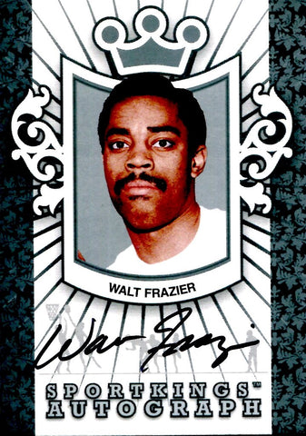 Walt Frazier 2008 Sports Kings Autographed Card