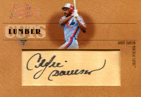 Andre Dawson Autographed Donruss Card #21/128