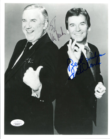 Ed McMahon & Dick Clark Autographed 8x10 Photo (JSA)