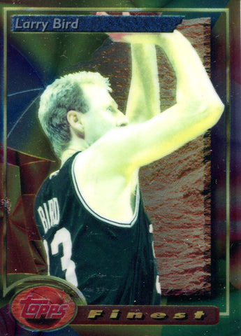 Larry Bird Topps Card