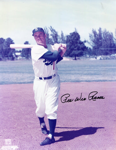 Pee Wee Reese Autographed 8x10 Photo