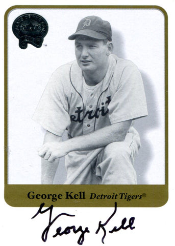 George Kell Autographed Fleer Card