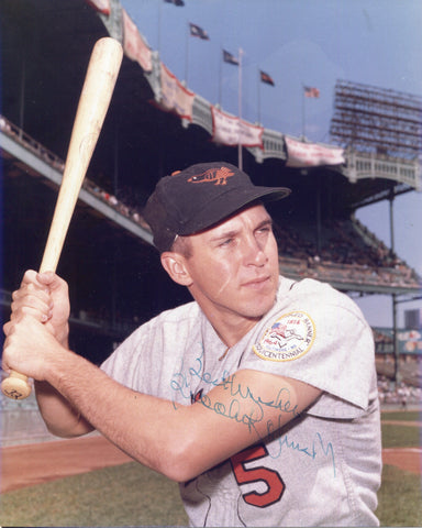 Brooks Robinson Autographed 8X10 Photo