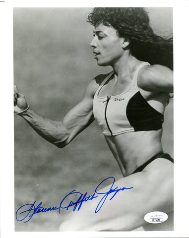 Florence Griffith Joyner Autographed 8x10 Photo (JSA)