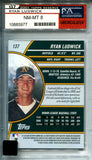 Ryan Ludwick 2001 Topps Reserve Autographed Rookie Card #821/1500 (PSA)