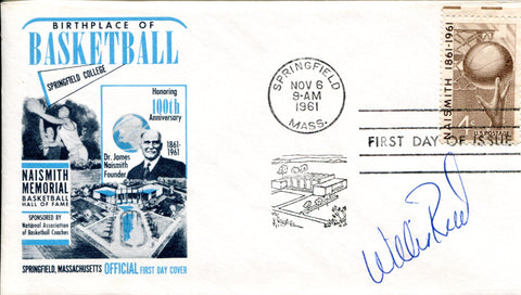 Willie Reed Autographed First Day Cover