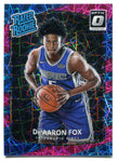 De'Aaron Fox 2017-18 Donruss Optic Pink Velocity #196 (33/79)