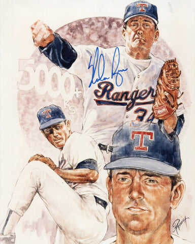 Nolan Ryan Autographed 8X10 Photo