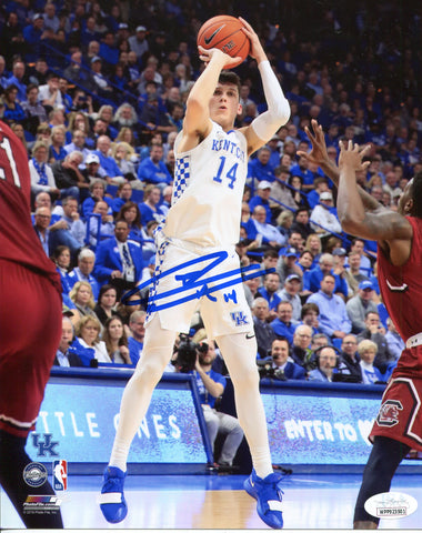 Tyler Herro Autographed Kentucky Shooting 8x10 Photo (JSA)