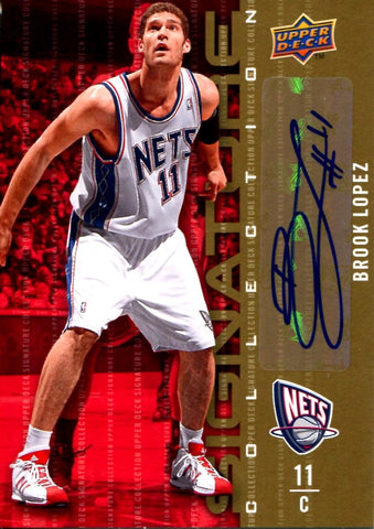Brook Lopez 2009-10 Signature Collection Autographed Card