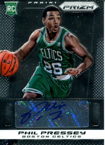 Phil Pressey 2013-14 Panini Prizm Autographed Card Rookie Card